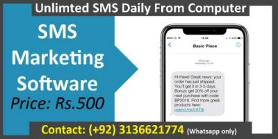 SMS Marketing Software for Sale in Lowest Price