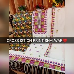 Lawn Embriodery Suite with Chifon Dupata