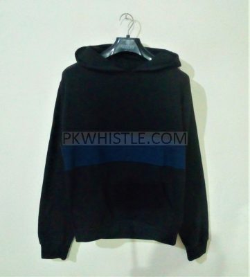 New Collection Casual Full Sleeve Black Hoodie For Men