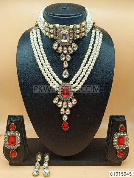 Unique Pearls & Stones Jeweler Sets Buy 1 get 1 Free(DELIVERY FREE)