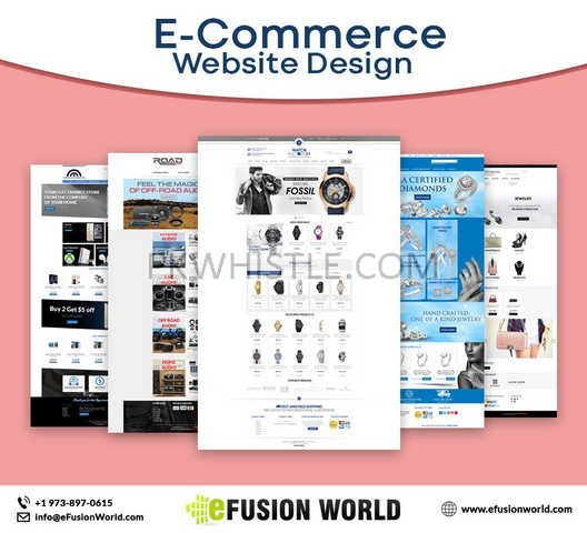 E commerce Website Design Service