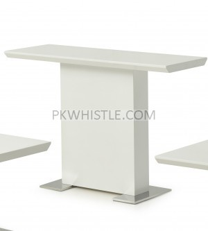 Console Table 120cm Erica White High Gloss