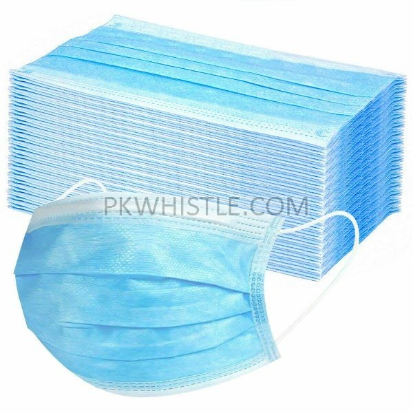 Online, Disposable Face Mask Anti Flu Dust 3 Layer Masks Protective medical