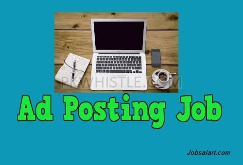 Online adds posting jobs available