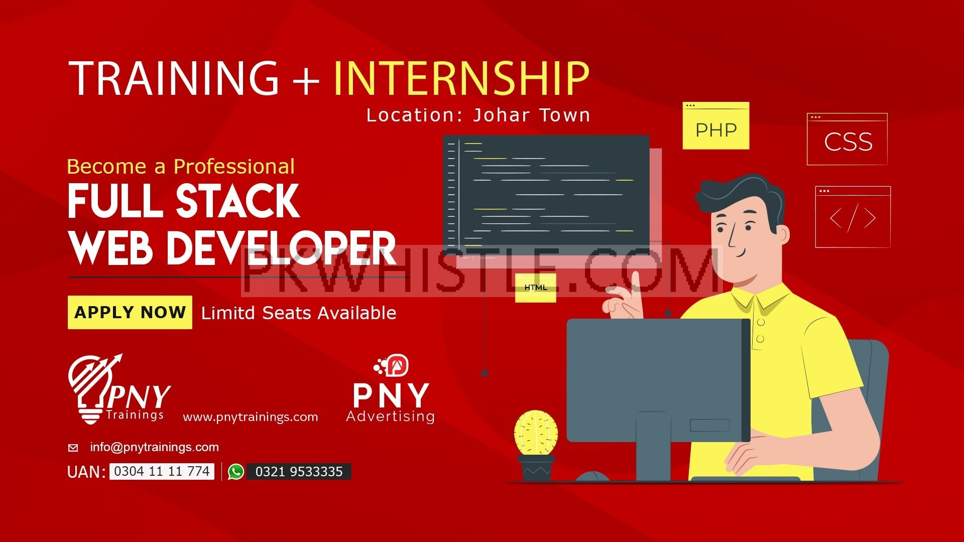 Become a Certified Full Stack Web Developer