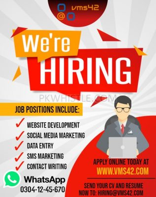 Online Content Writing Jobs Available