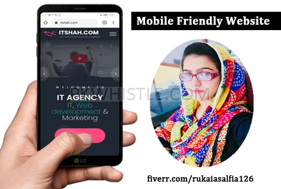 I will make responsive and mobile friendly WordPress website