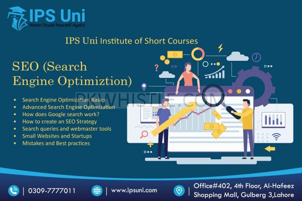 Best Institute of Certified SEO short course in Lahore | IPS Uni